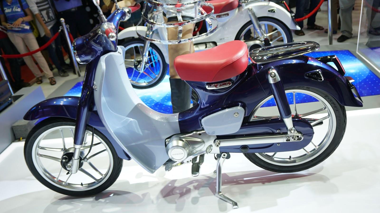 Honda Super Cub sẽ tái hiện chiếc Cub huyền thoại trong quá khứ?