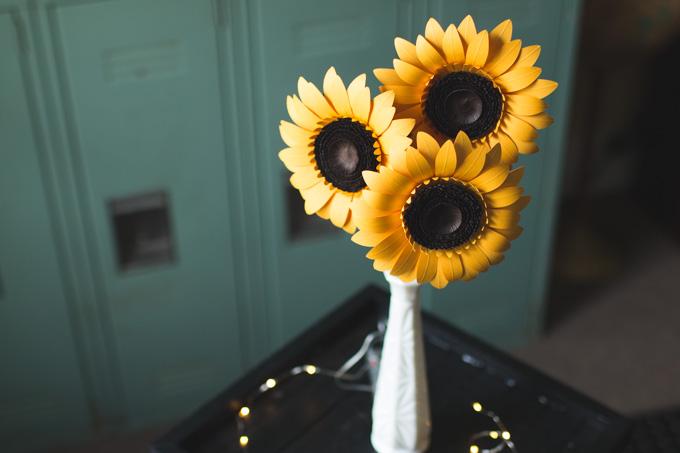 cleveland, florist, sunflowers, love anji