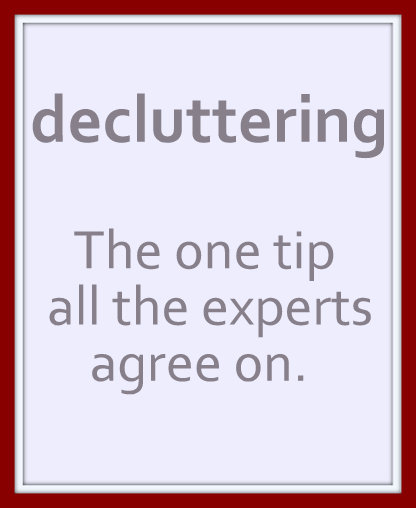 Decluttering - Where To Start?