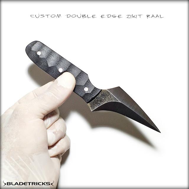 Pakal EDC combat knife, Bladetricks Original Hand made Knives