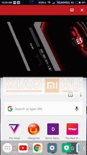 cara split screen xiaomi miui 8 taskbar - step 7