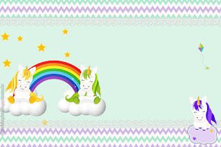 Lovely Unicorns: Free Printable Invitations and Candy Bar Labels.