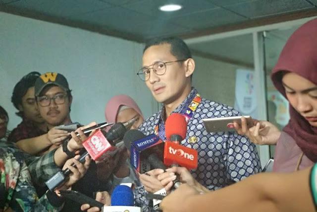 Bikin 'Mules'! Pecat Pejabat Di DKI Via Whatsapp, Sandiaga Uno Bilang Itu Cara Zaman Now