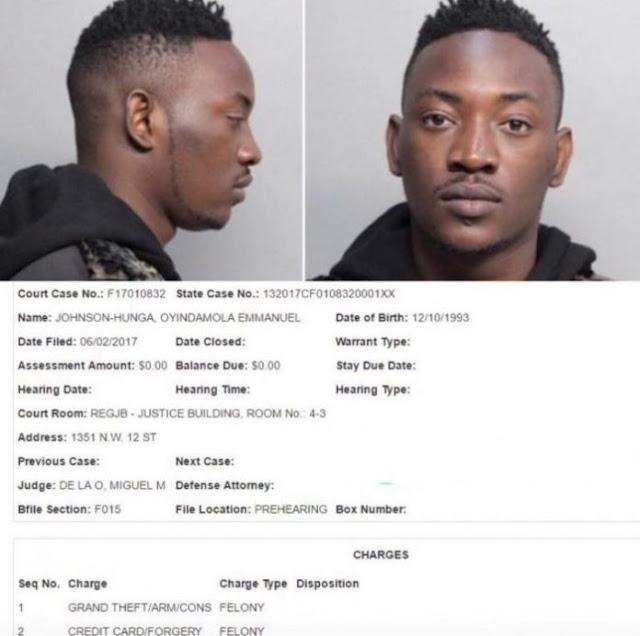 Nigerian Artiste  Dammy Krane Released On Bail