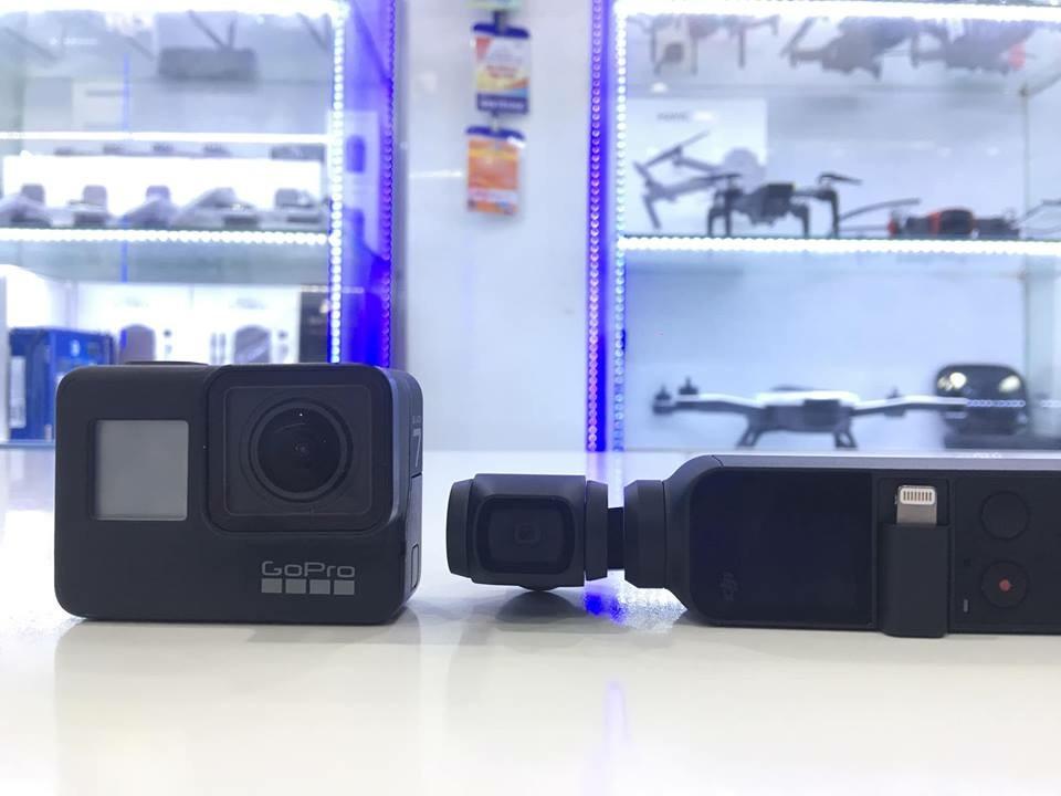 So sánh nhanh Osmo Pocket và Gopro Hero 7 Black