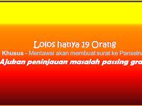 Mentawai - Lolos Hanya 19 Orang!!!