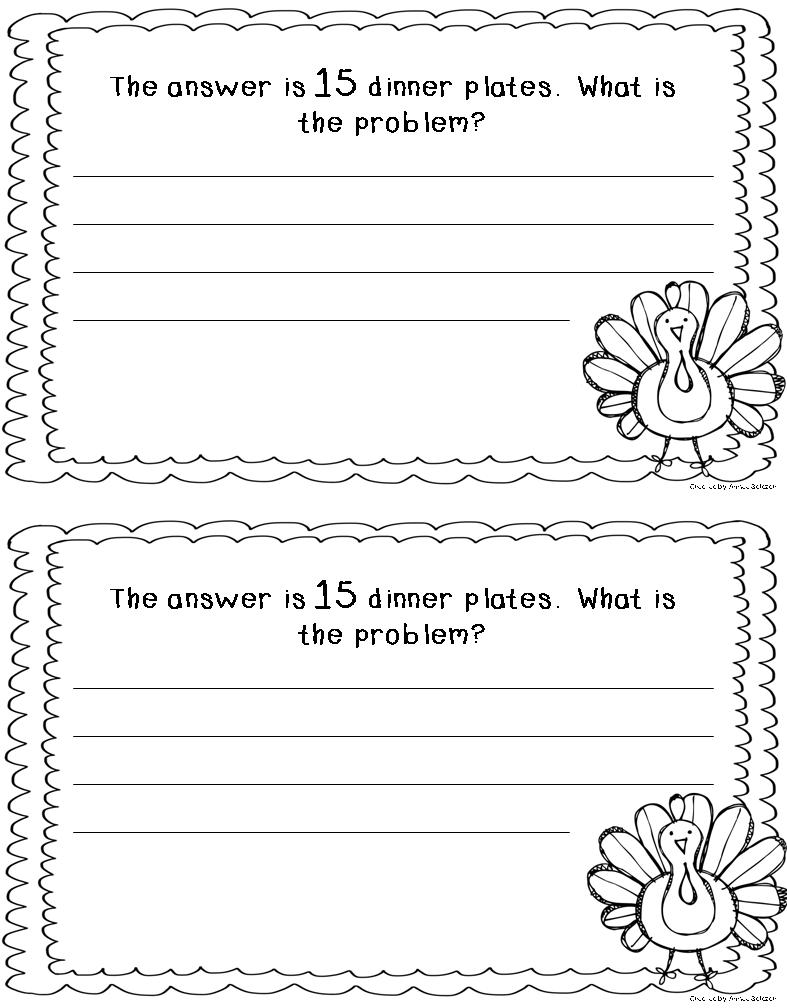 What's the Problem? {FREEBIE} | Primarily Speaking