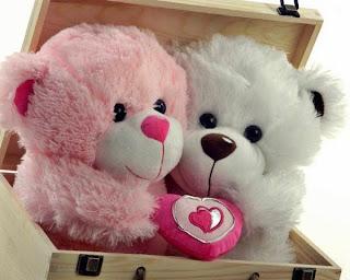 Boneka beruang love 29
