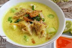 Resep Soto Ayam Kuning Enak Dan Sederhana