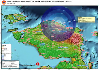 Gempa 5,2 SR Guncang Kota Jayapura
