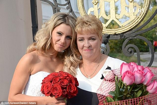 Ekaterina and her mother Galina Baryshnikova, who accused medics of murdering her only daughter