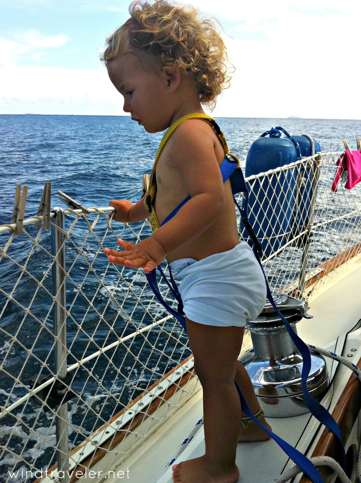 Believe it or not, this is Isla, not Haven! Sailing off the coast of  Grenada 2013