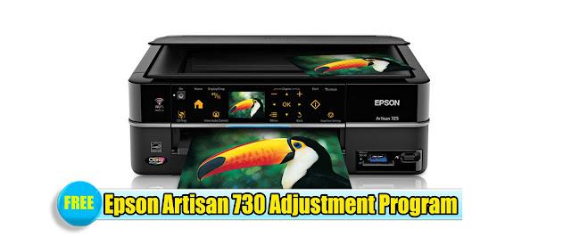 Epson Artisan 730 Adjustment Program