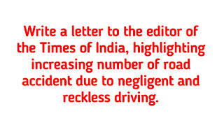 Reckless Driving - a Menace