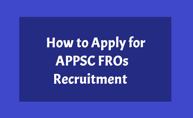 APPSC Forest Range Officers