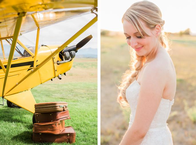 Travel themed Montana wedding / Photography: Mackenzie Keough / Florist: Mums Flowers