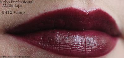 Kobo Matte Lips 412 Vamp