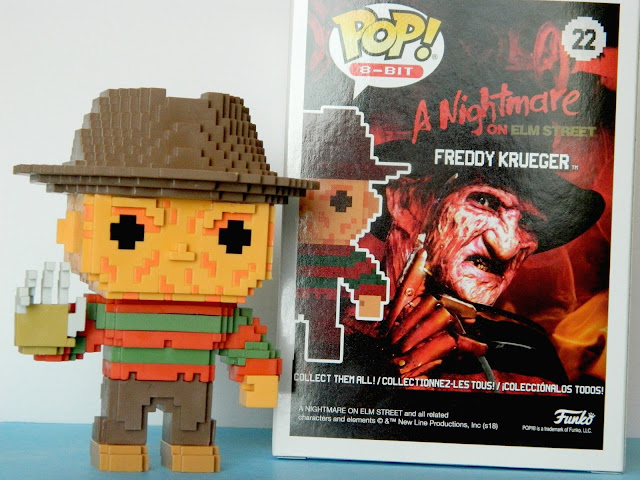 Funko Pop A Nightmare On Elm Street 8-bit Freddy Krueger