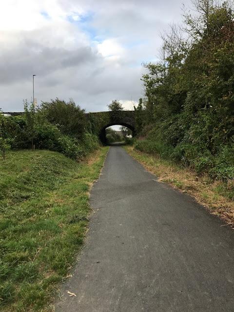 Tarka Trail cycle path, Bideford, Devon