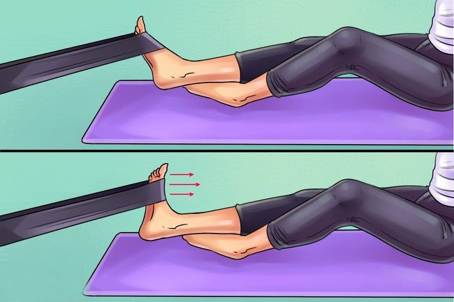 Exercises Easily Relieve Your Pain In The Feet, Hip And Knees.