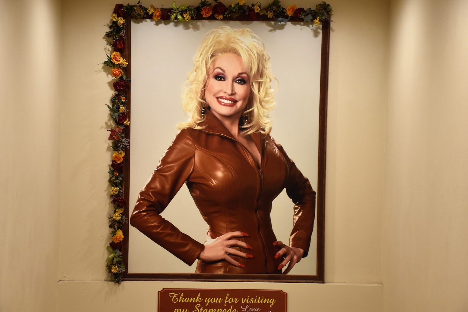 Dolly Parton Picture at Dolly's Stampede Pigeon Forge, TN