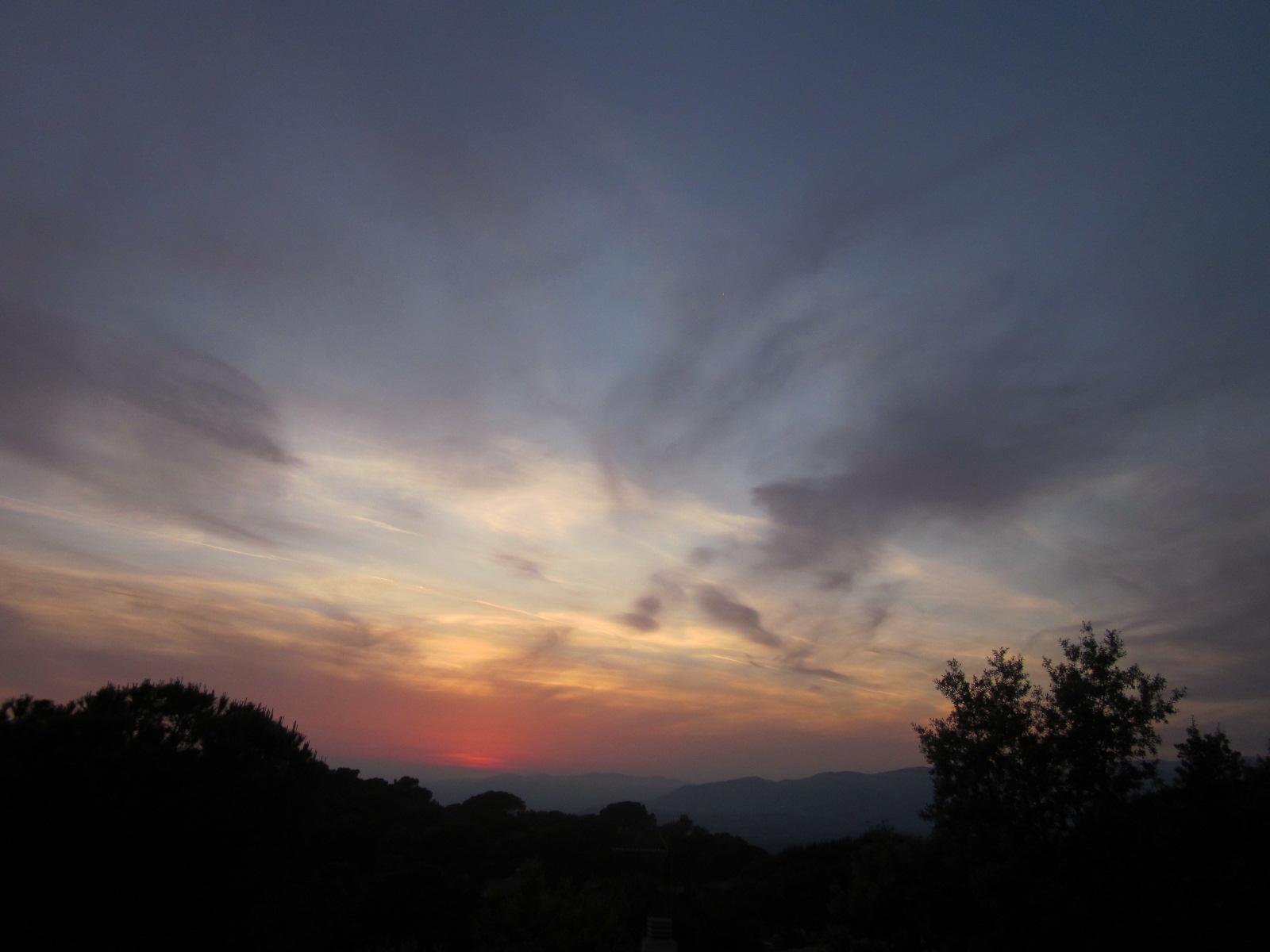 Pen lope aguarda en itaca puesta de sol s bado 26 mayo for Puesta de sol