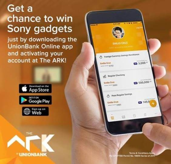 "The ARK by UnionBank Holds ""Show, Visit, Win a Gadget"" Promo"