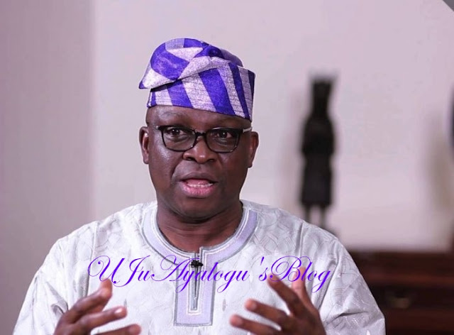 Ekiti guber: Sell your votes, go to jail, Fayose cautions workers