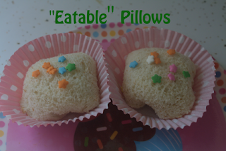 """Eatable"" Pillows and Waterfall Chocolate"