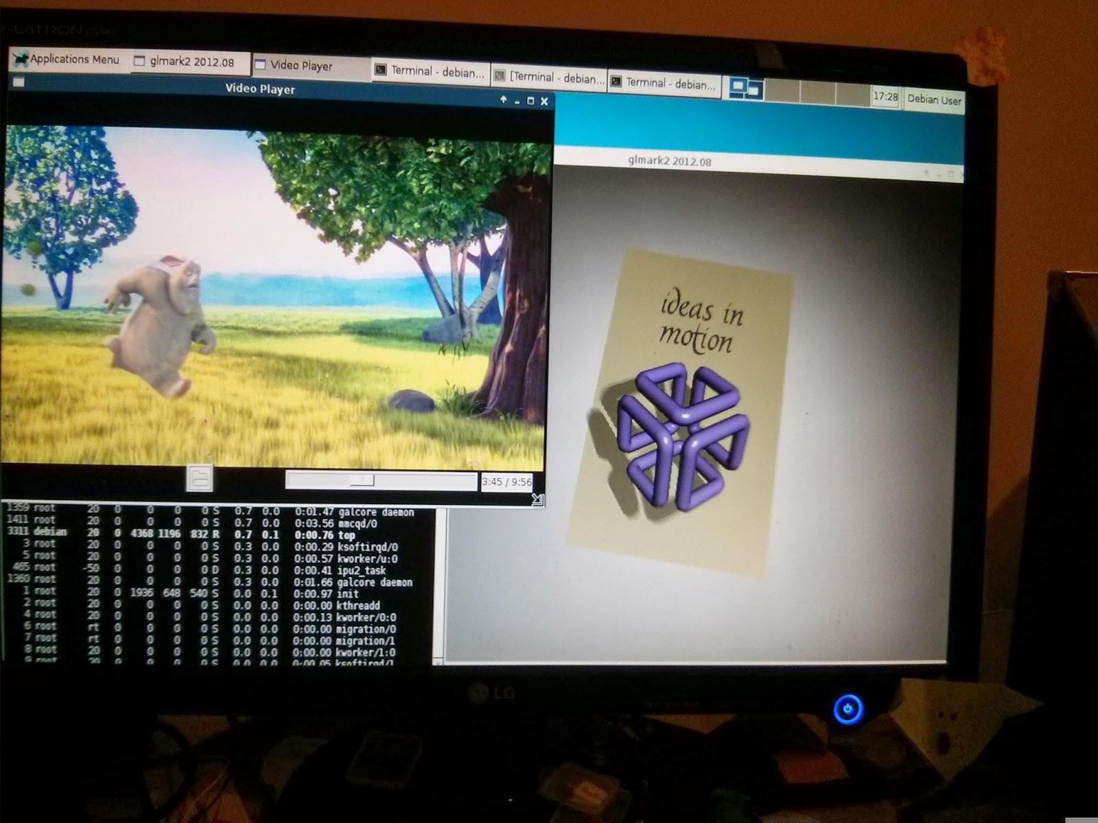 Tiny Devices: I MX6 Debian Jessie (GPU/VPU) 3 10 9-1 0 0