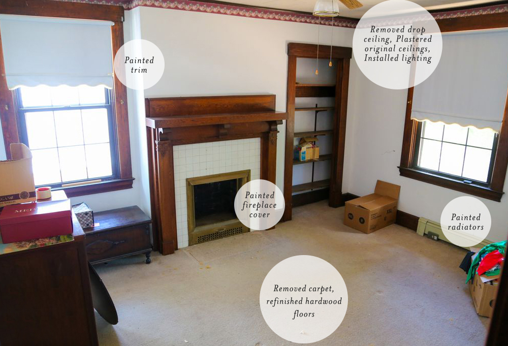 Modern Kids Nursery Room Before and After