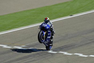 Jorge Lorenzo Moto GP Aragon 2012