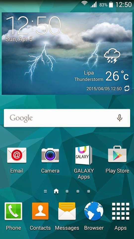 S5 ROM SCREENSHOT 1