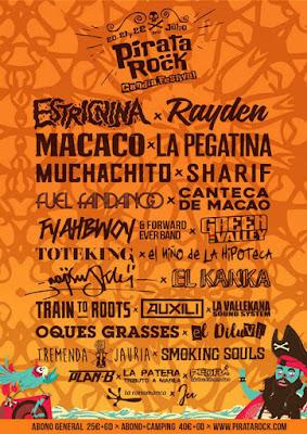 Pirata Rock, el festival que tendrá lugar los días 20, 21 y 22 de julio en el Polígono Benieto de Gandía (Valencia)