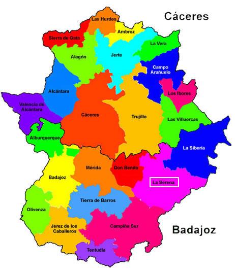 Worksheet. Mapa Politico De Extremadura  My blog