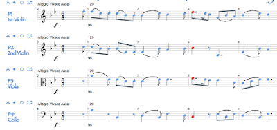 Self-aware notation. Notename, frequency, octave, midi, duration. #VisualFutureOfMusic #WorldMusicInstrumentsAndTheory