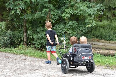 geländetauglicher Kinderwagen