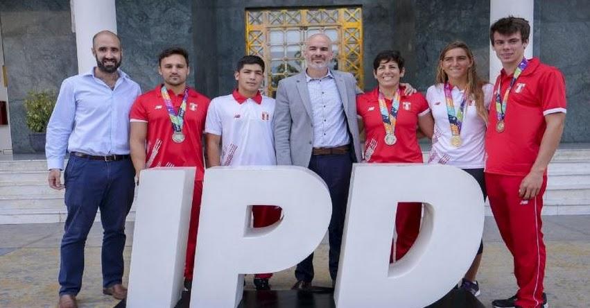 IPD y MINEDU rinde homenaje a deportistas que lograron histórico récord en IV Juegos Suramericanos
