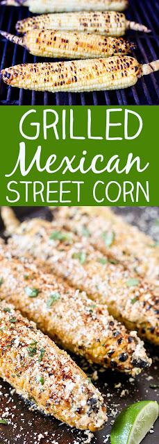 Grílled Mexícan Street Corn