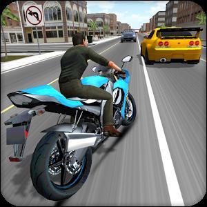 تحميل لعبة الموتسيكلات moto racer 3d 2018 مجانا