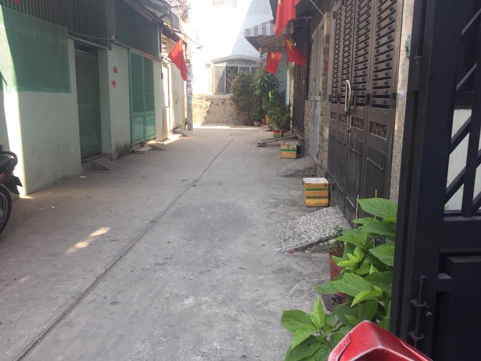 Bán nhà Hẻm xe hơi Phú Thọ Hòa quận Tân Phú. DT 4x12,5m