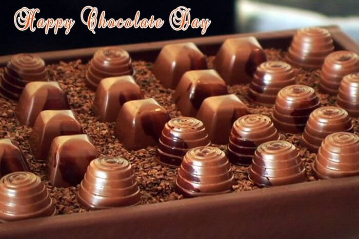 Chocolate Day Wishes and Quotes for GF