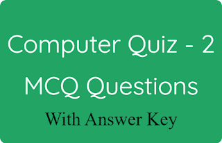 Computer Quiz - 2