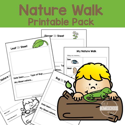 free nature walk worksheets for kids. Black Bedroom Furniture Sets. Home Design Ideas