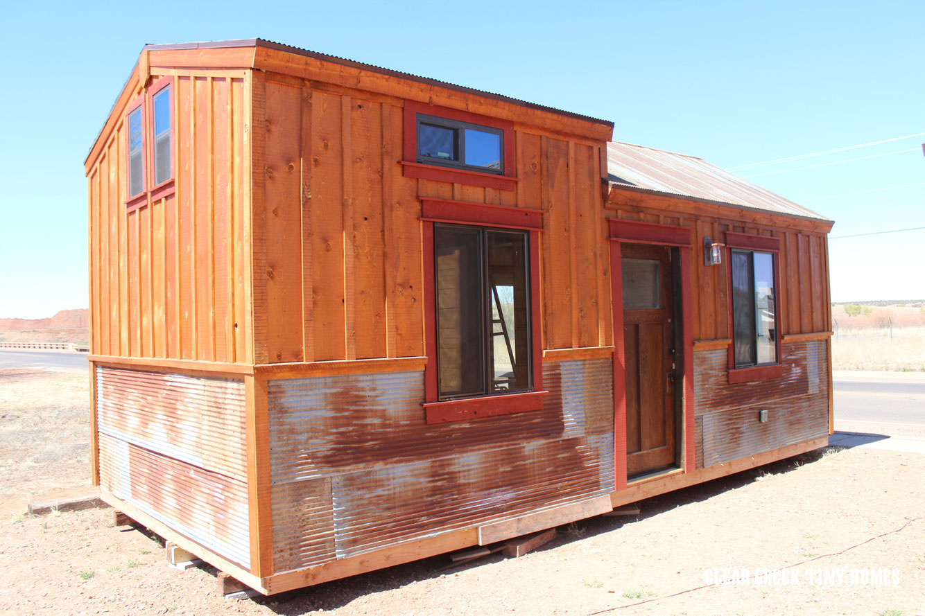 Tiny House Town The Pioneer From Clear Creek Tiny Homes
