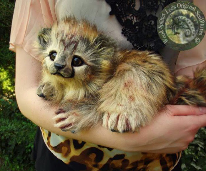 ... Wolf : Incredibly Realistic Baby Animal Toys By Lee Cross (PHOTOS