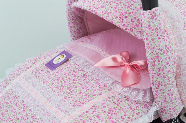 saco Matrix Jane flores rosa organza
