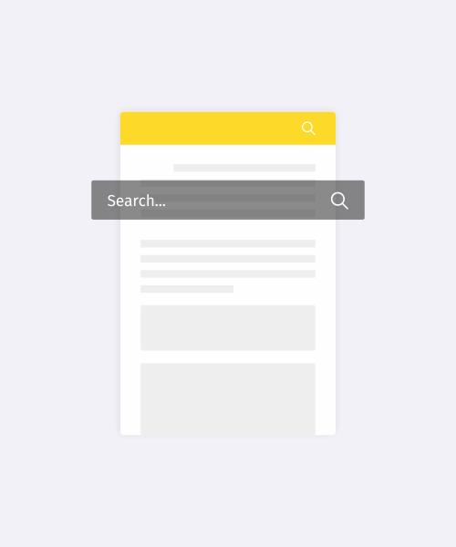 Kotak pencarian searchbox