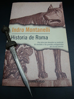 Portada del libro Historia de Roma, de Indro Montanelli