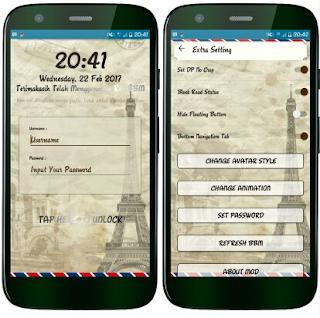 BBM Mod Paris Story V3.3.0.16 Apk